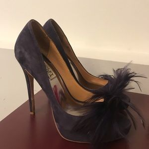 BADGLEY MISCHKA Feather Heels